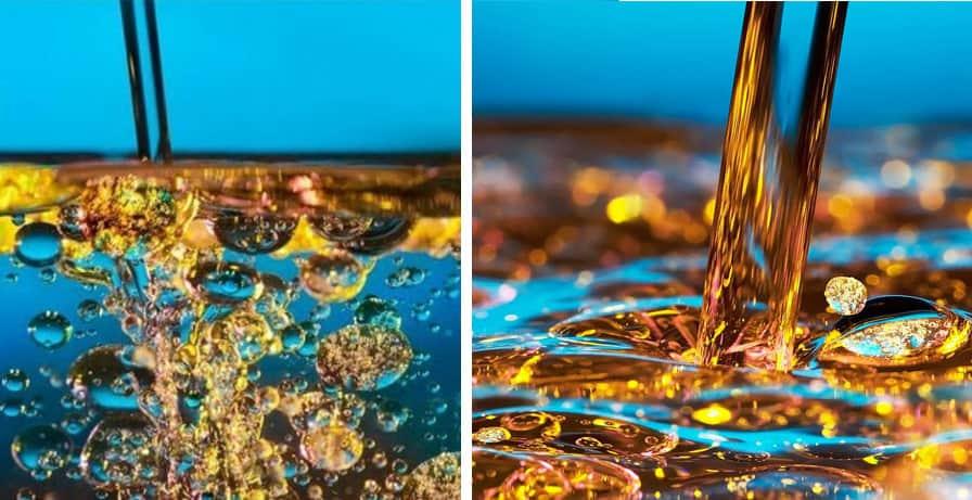El agua y el aceite no se mezclan