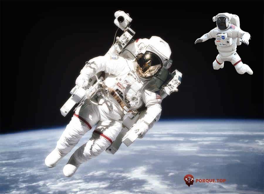 Por qué el traje de los astronautas es blanc0o